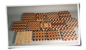 Geometric Pattern Cutting Boards